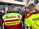 Begrüßung der Johanniter-Motorradstaffeln (01.09.2018)