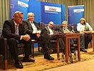 Gespräch mit CDU-Generalsekretär Tauber in Bassum (27.09.2014)