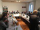 Hofgespräch zum Milchmarkt mit Kartellamtschef in Rehden (06.04.2017)