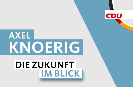 Axel Knoerig: Start